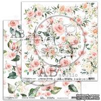 "Лист скрапбумаги от ABstudio - elements ""Amazing flower"""