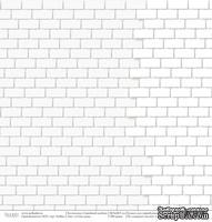 """Лист бумаги от Polkadot """"Семейный альбом"""" – Стена дома, 30,5х30,5 см - ScrapUA.com"""