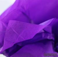 Папиросная бумага тишью 50х70 см  (слож.12,5 х 19см), цвет: фиолетовый, 10 листов