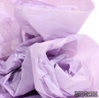 Папиросная бумага тишью 50х70 см  (слож.12,5 х 19см), цвет: сиреневый, 10 листов