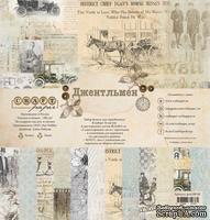 """Набор бумаги """"Джентльмен"""" от Craft Paper, 30x30см"""
