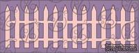 "Чипборд Бордюр ""Забор"" №1 15,2 см, cb-55"