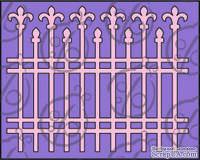 Чипборд Кованая ограда, 1 шт., cb-100