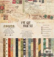"""Набор бумаги """"I've got your six"""" от Craft Paper, 30x30см"""