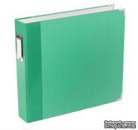 Альбом на кольцах Project Life by Becky Higgins - Album - 12 x 12 - Designer D-Ring - Jade Edition - Album 2, зеленый