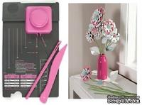 Доска для создания цветов от We R Memory Keepers - Flower Box Punch Board, 71342-5