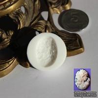 Силиконовая форма (молд) - Камея, размер: 25х18 мм