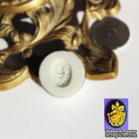 Силиконовая форма (молд) - Камея, размер: 13х18 мм