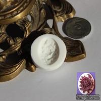 Силиконовая форма (молд) - Камея, размер: 25хх18 мм