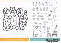 Набор ножей и штампов от Studio Katia - Kobi the Birthday Bear