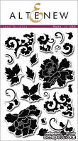 Набор штампов от Altenew - Lacy Scrolls - Кружевные завитки, 20 шт