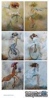 Картинки клоуны, 15х30 см, 001006