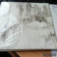 Заготовка альбома European holidays LONDON - NEW YORK, TM Fabrika Dekoru