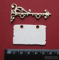 Чипборд от Вензелик - Вывеска, размер чипборда: 50*55 мм