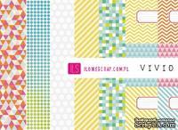 Набор бумаги ILS - VIVID - sumer 2012, 30x30
