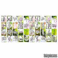 Набор полос с картинками для декорирования Magnolia in bloom, ТМ Фабрика Декору