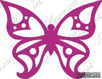 Чипборд от Вензелик - Бабочка 02, размер: 38*48 мм