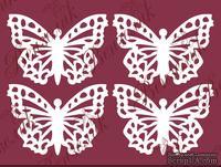 Чипборд от Вензелик - Набор бабочек 02, размер: 36x51 мм - ScrapUA.com