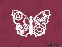 Чипборд от Вензелик - Бабочка Стимпанк, размер: 43x63 мм