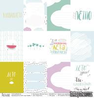 Карточки - Мятное лето, односторонняя бумага, размер 30,5х30,5 см, плотность 190 гр\м2