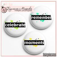 Скрап-значки (фишки) от Бумага Марака - Moments