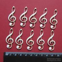 Чипборд от Вензелик - Набор ключиков, размер чипборда: 40*15 мм