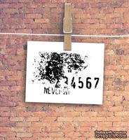 """Штамп резиновый от TM """"Черешня"""" - Down street, дизайн: Ирина Музалевская - Коллаж 34567, 6х3,5 см"""