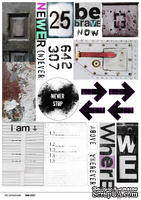 "Лист с картинками для вырезания от  от ТМ ""Черешня"" - Down Street, дизайн: Ирина Музалевская, А4, 240 гр/м"