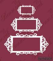 Чипборд от Вензелик - Набор рамок 05, размер: 40x70, 60x120, 83x170 мм