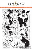 Набор штампов от Altenew - Painted Butterflies - Рисованные бабочки, 29 шт