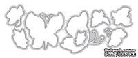 Ножи для вырубки от Altenew - Painted Butterflies Die - Рисованные бабочки, 8 шт