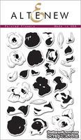 Набор штампов от Altenew - Painted Flowers Painted Flowers - Рисованные цветы, 26 шт