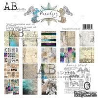 """Набор бумаги от ABstudio - """"Paradise Lost"""" - Paper set 8x 30х30см + bonus - ScrapUA.com"""