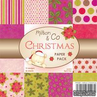 Набор односторонней бумаги от Wild Rose Studio - Рождество   - 15х15 см