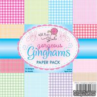 Набор односторонней бумаги от Wild Rose Studio - Gorgeous  - 15х15 см