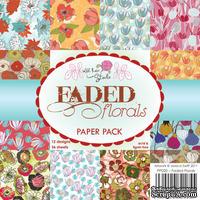 Набор односторонней бумаги от Wild Rose Studio - Цветы  - 15х15 см