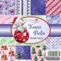 Набор односторонней бумаги от Wild Rose Studio - Xmas Bella  - 15х15 см