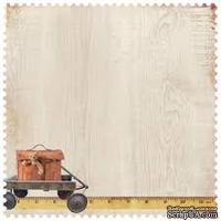 Фигурный лист скрапбумаги от Kaisercraft - Teddy Bears Picnic Collection - Beary Special, 30,5 х 30,5 см.