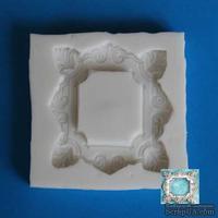 Силиконовая форма (молд) - Рамочка квадратная, 55 см - ScrapUA.com