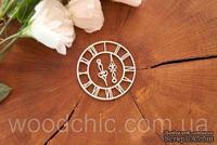 "Чипборд ""Часы"" от WOODchic, 6см"