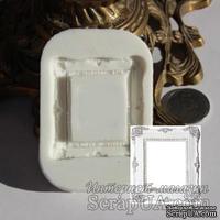 Силиконовая форма (молд) - Рамка, размер: 45х50 мм - ScrapUA.com