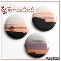 Скрап-значки (фишки) от Бумага Марака - Рассвет