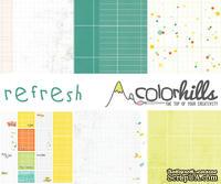 Набор бумаги, фишек и штампов от Color Hills - Коллекция Refresh, 14 элементов