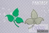 """Нож для вырубки от Fantasy лист """"Роза 1"""", 7 см * 6.5 см"""
