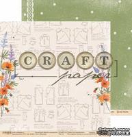 """Лист скрапбумаги - Модница """"Цветик-семицветик"""" от Craft Paper, 30x30см"""