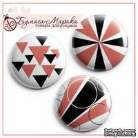 Скрап-значки (фишки) от Бумага Марака - Геометрия
