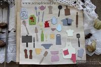 Набор ножей для вырубки от Scrapfriend - Гретта, 34 штуки