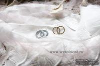 Нож для вырубки от Scrapfriend - Свадебные кольца, 2,5х1,5см