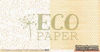 """Лист двусторонней бумаги для скрапбукинга от EcoPaper - """"Сухоцветы"""" из коллекции """"Тайны леса""""."""
