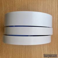 Скотч двухсторонний прозрачный узкий, 8мм x 10м, 1шт. - ScrapUA.com